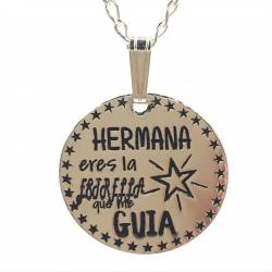 COLLAR HERMANA DE PLATA